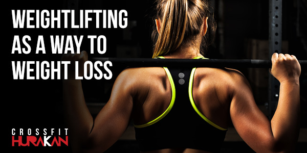 Weightlifting as a way to weight loss