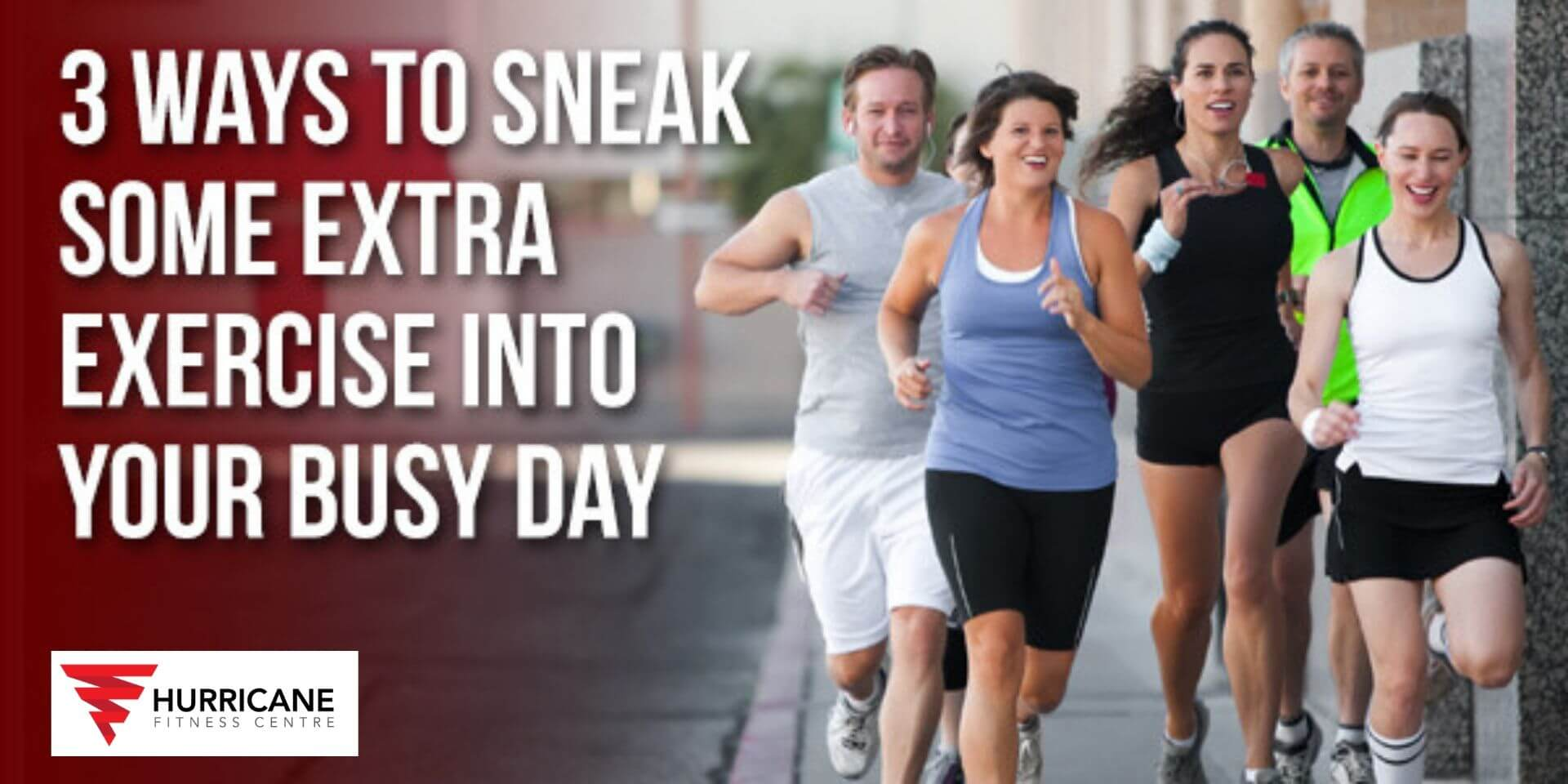 3 ways to sneak some extra exercise into your busy day