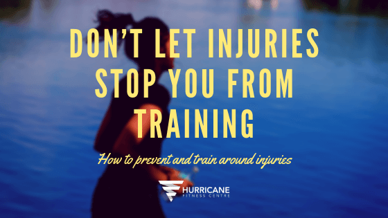 Don't let injuries stop you from training