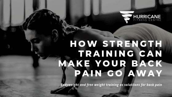 How strength training can make your back pain go away