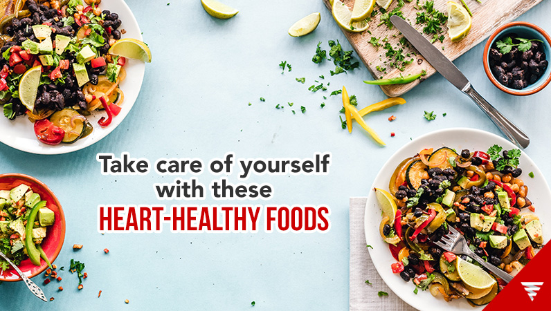 Take care of yourself with these heart-healthy foods