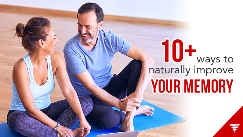 10+ ways to naturally improve your memory